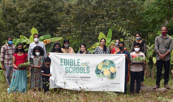 MSSBG-BGCI Edible School Project launched